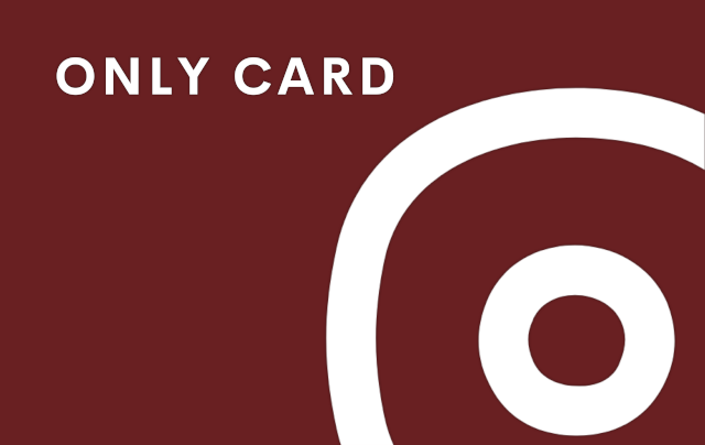 Only Card - Blood Red